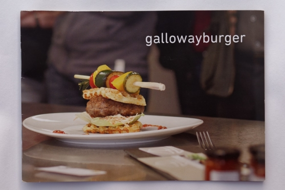 Gallowayburger-Broschüre