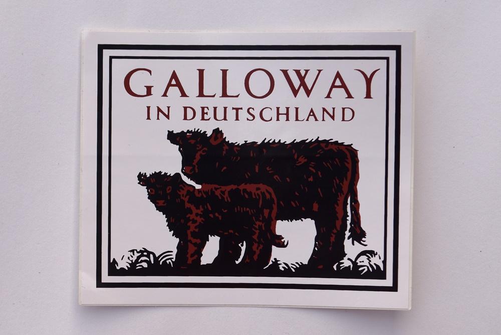 Galloway Aufkleber