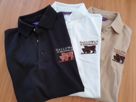 Herren Polo Shirt mit Aufdruck Galloway in Deutschland