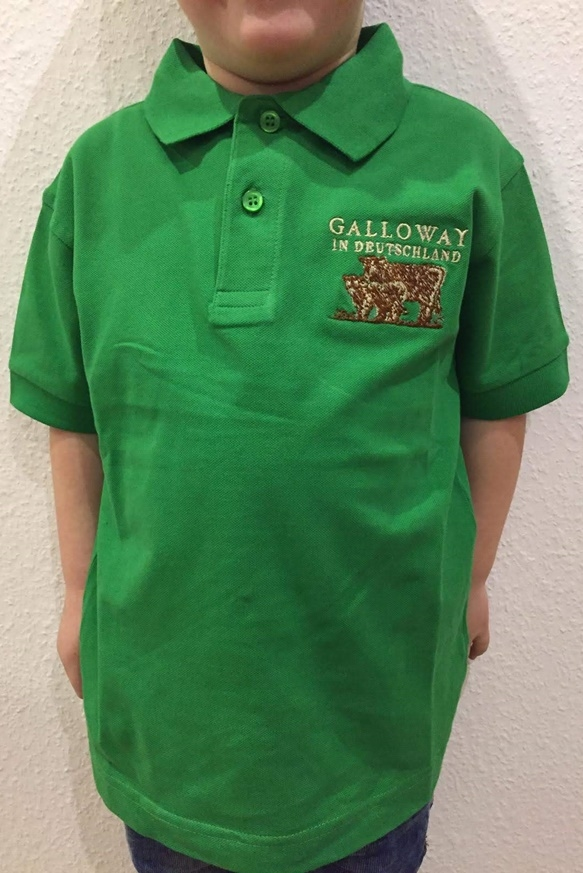 Kinder Polo Shirt mit Aufdruck Galloway in Deutschland