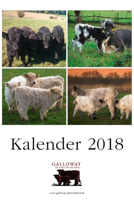 Galloway Kalender 2018