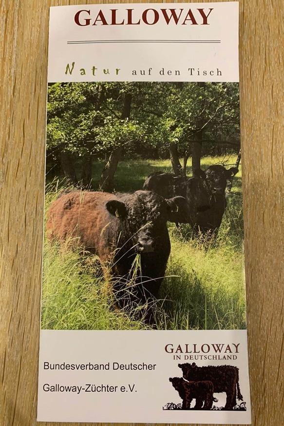 Galloway - Natur auf den Tisch