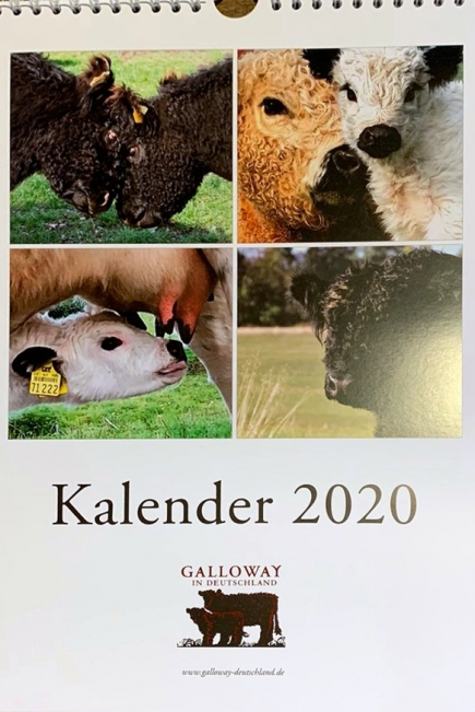 Galloway Kalender 2020