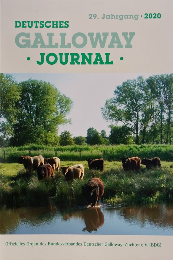 Deutsches Galloway Journal 2020