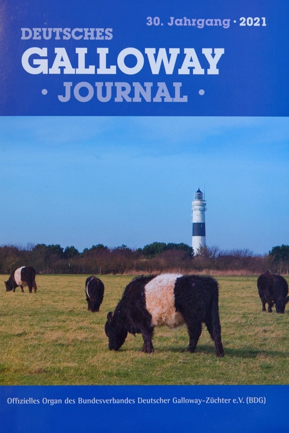 Deutsches Galloway Journal 2021